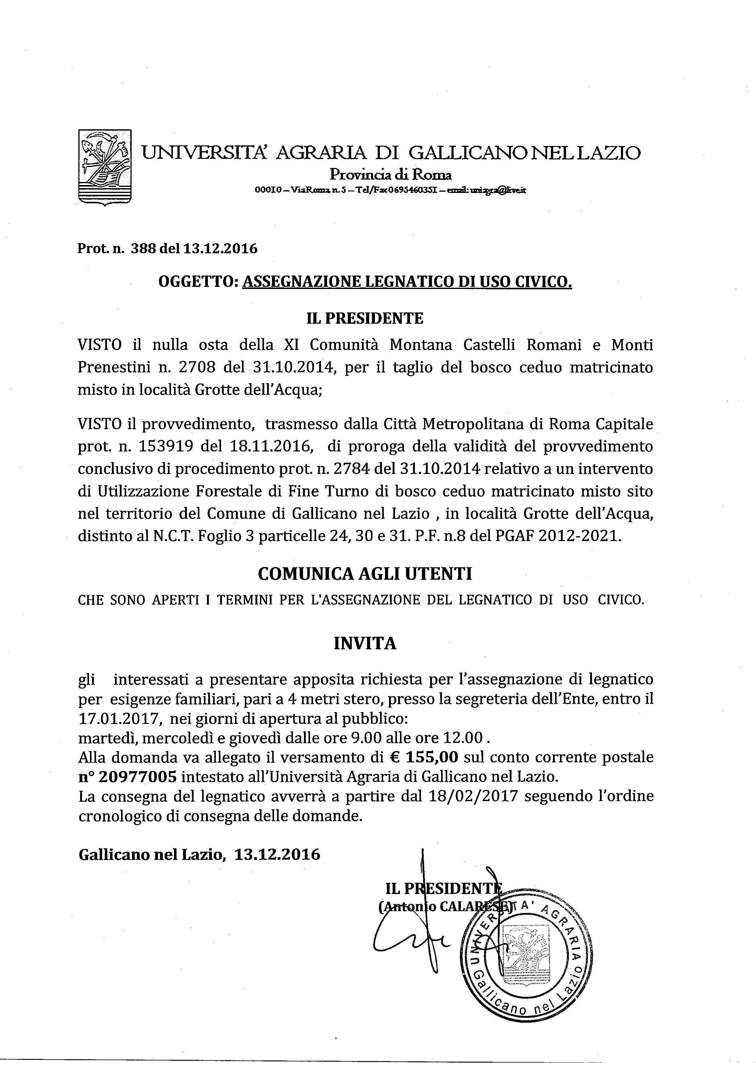 Universit Agraria Di Gallicano Nel Lazio Autore A Universita
